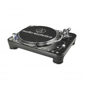 Audio Technica AT-LP1240-USB Direct-Drive Professional DJ Turntable