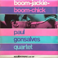 Paul Gonsalves Quartet ‎– Boom-Jackie-Boom-Chick