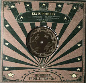 Elvis Presley ‎– The Original EP Collection No.3