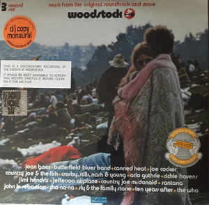 Various ‎– Woodstock